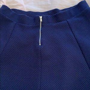 Divided Skirts - navy blue skirt